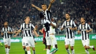 LA JUVE BATTE IL MILAN ALLO JUVENTUS STADIUM.