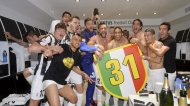 JUVENTUS, CHE FESTA PER LO SCUDETTO