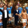IL NAPOLI PROTAGONISTA DEL PRESEPE DI SAN GREGORIO ARMENO